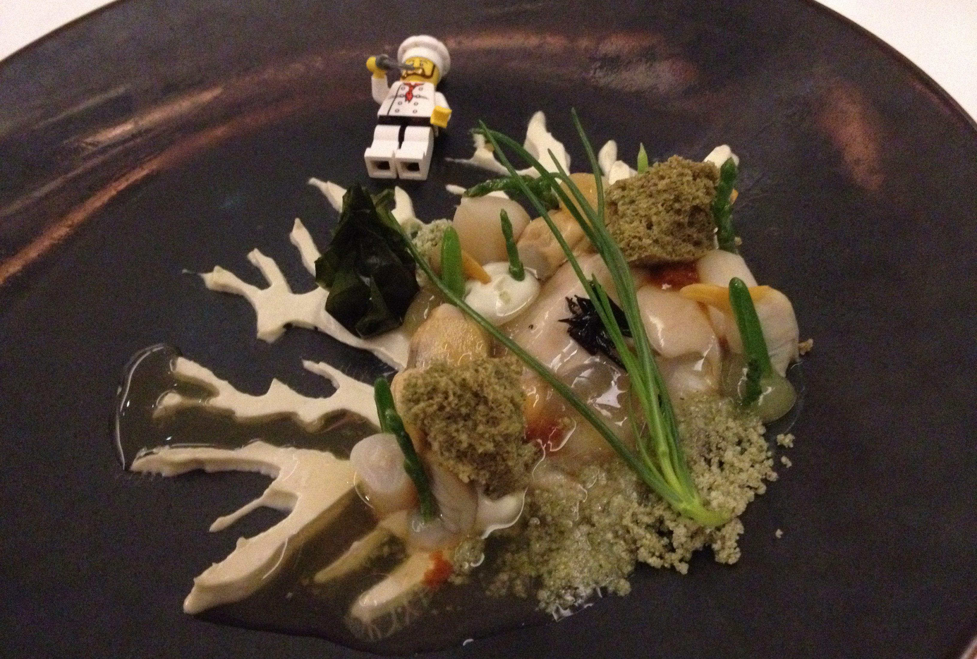 gang 2: zeevruchten: algen, zee-egel, hand van boeddha en zilte planten.
